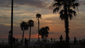 Sunset on Clearwater Beach, FL.
