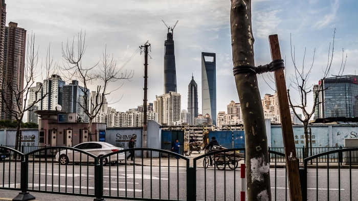 Three of the tallest building in China