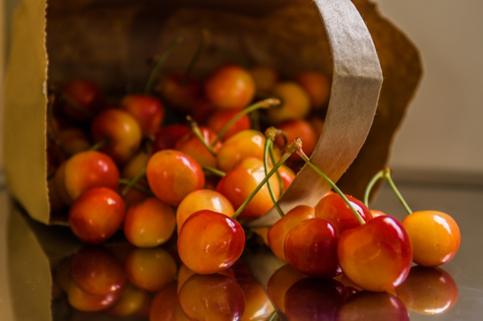 Rainier Cherries from the Boise Farmers' Market