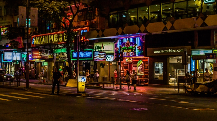 """""""Dance Clubs""""  and """"Special Ladies"""" come out at night. (Hong Kong)"""