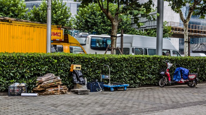 Curbside recycling center, Pudong